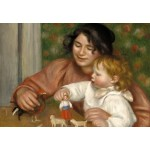 Puzzle  Grafika-Kids-01320 Auguste Renoir: Gabrielle and the Artist's Son, Jean, 1895-1896