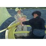 Puzzle  Grafika-Kids-01337 Mary Cassatt: The Boating Party, 1893/1894