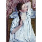 Puzzle  Grafika-Kids-01339 Mary Cassatt: Girl Arranging Her Hair, 1886