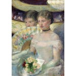 Puzzle  Grafika-Kids-01340 Mary Cassatt: The Loge, 1882