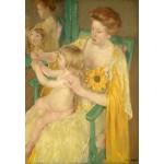 Puzzle  Grafika-Kids-01341 Mary Cassatt: Mother and Child, 1905