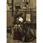Puzzle  Grafika-Kids-01358 Jean-Baptiste-Camille Corot: The Artist's Studio, 1868