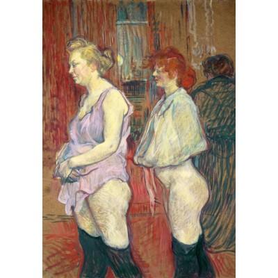 Puzzle Grafika-Kids-01366 Henri de Toulouse-Lautrec: Rue des Moulins, 1894