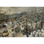 Puzzle  Grafika-Kids-01367 Camille Pissarro: Boulevard des Italiens, Morning, Sunlight, 1897
