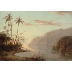 Puzzle  Grafika-Kids-01369 Camille Pissarro: Creek in St. Thomas, Virgin Islands, 1856