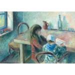 Puzzle  Grafika-Kids-01378 Camille Pissarro: The Children, 1880
