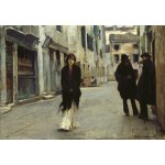 Puzzle  Grafika-Kids-01390 John Singer Sargent: Street in Venice, 1882