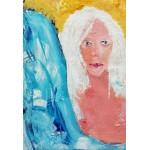 Puzzle  Grafika-Kids-01415 XXL Pieces - Girl with White Hair