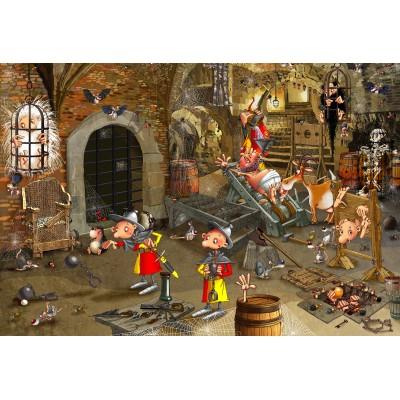 Puzzle Grafika-Kids-01431 XXL Pieces - François Ruyer: Dungeon