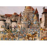 Puzzle  Grafika-Kids-01447 François Ruyer - Attack of the Castle