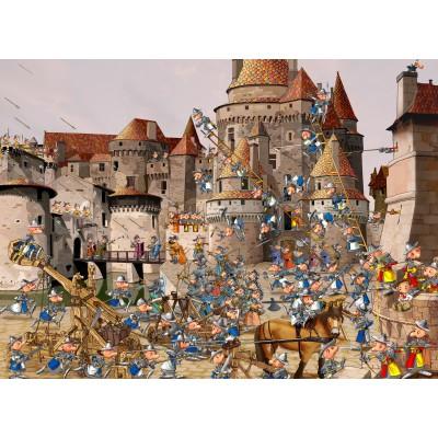 Puzzle Grafika-Kids-01447 François Ruyer - Attack of the Castle