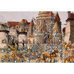 Puzzle  Grafika-Kids-01448 François Ruyer - Attack of the Castle
