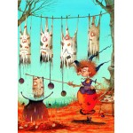 Puzzle  Grafika-Kids-01452 François Ruyer - The Witch