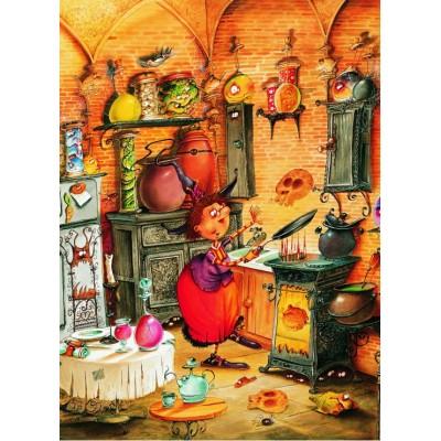 Puzzle Grafika-Kids-01453 François Ruyer - The Witch