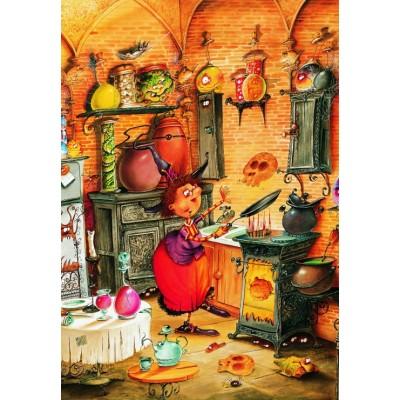 Puzzle Grafika-Kids-01454 François Ruyer - The Witch