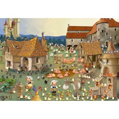 Puzzle Grafika-Kids-01460 François Ruyer - Farm