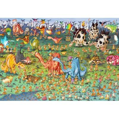 Puzzle Grafika-Kids-01468 François Ruyer - Dinosaurs