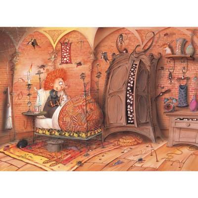 Puzzle Grafika-Kids-01472 François Ruyer - Witch