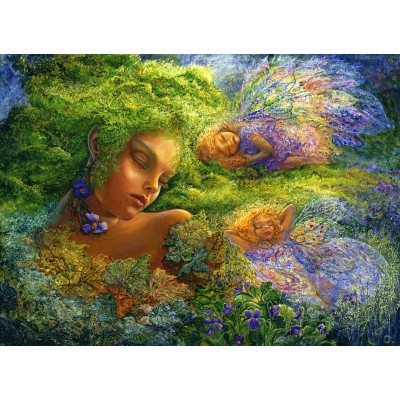 Puzzle Grafika-Kids-01513 Josephine Wall - Moss Maiden