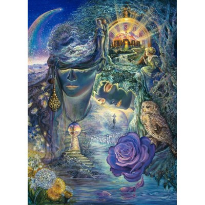Puzzle Grafika-Kids-01519 Josephine Wall - Key to Eternity