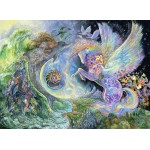 Puzzle  Grafika-Kids-01521 Josephine Wall - Magical Meeting