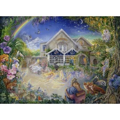 Puzzle Grafika-Kids-01528 Josephine Wall - Enchanted Manor