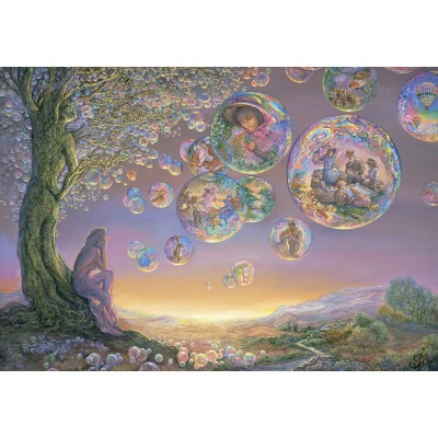 Puzzle Grafika-Kids-01578 Josephine Wall - Bubble Tree