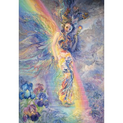 Puzzle Grafika-Kids-01602 Josephine Wall - Iris, Keeper of the Rainbow