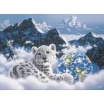 Puzzle  Grafika-Kids-01624 Schim Schimmel - Bed of Clouds