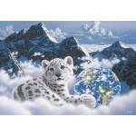 Puzzle  Grafika-Kids-01625 Schim Schimmel - Bed of Clouds