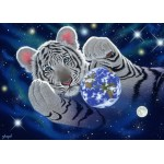 Puzzle  Grafika-Kids-01628 Magnetic Pieces - Schim Schimmel - A Hug For Mother