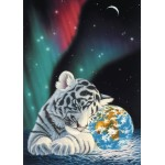 Puzzle  Grafika-Kids-01644 Magnetic Pieces - Schim Schimmel - Earth Light