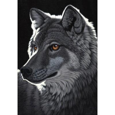 Puzzle Grafika-Kids-01701 Schim Schimmel - Night Wolf