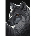 Puzzle  Grafika-Kids-01704 XXL Pieces - Schim Schimmel - Night Wolf