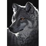 Puzzle  Grafika-Kids-01704 XXL Pieces - Schim Schimmel - Night Wolf