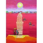 Puzzle  Grafika-Kids-01707 Magnetic Pieces - Anne Poiré et Patrick Guallino - Aube Rubis