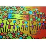 Puzzle  Grafika-Kids-01712 Magnetic Pieces - Anne Poiré & Patrick Guallino - Vive l'Amour