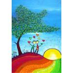 Puzzle  Grafika-Kids-01719 XXL Pieces - Anne Poiré & Patrick Guallino - Signes et Sillons de Bonheur