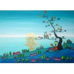 Puzzle  Grafika-Kids-01722 Magnetic Pieces - Anne Poiré & Patrick Guallino - Soleil sur Livres