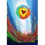 Puzzle  Grafika-Kids-01729 XXL Pieces - Anne Poiré & Patrick Guallino - Quand le Coeur bat