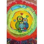 Puzzle  Grafika-Kids-01744 XXL Pieces - Anne Poiré & Patrick Guallino - Le Nid Porte-bonheur