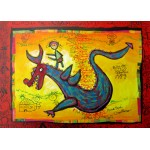 Puzzle  Grafika-Kids-01747 Magnetic Pieces - Anne Poiré & Patrick Guallino - Dragon Talisman