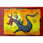 Puzzle  Grafika-Kids-01749 XXL Pieces - Anne Poiré & Patrick Guallino - Dragon Talisman