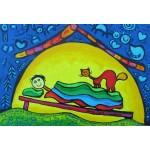 Puzzle  Grafika-Kids-01763 XXL Pieces - Anne Poiré & Patrick Guallino - Complices