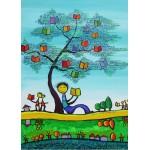 Puzzle  Grafika-Kids-01771 Magnetic Pieces - Anne Poiré & Patrick Guallino - D'une Feuille l'Autre