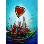 Puzzle  Grafika-Kids-01777 Anne Poiré & Patrick Guallino - Eclats d'Amour