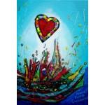 Puzzle  Grafika-Kids-01778 XXL Pieces - Anne Poiré & Patrick Guallino - Eclats d'Amour