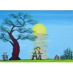 Puzzle  Grafika-Kids-01781 Magnetic Pieces - Anne Poiré & Patrick Guallino - Ecrit dans le Ciel
