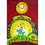 Puzzle  Grafika-Kids-01785 Anne Poiré & Patrick Guallino - Équilibre