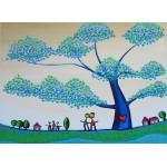 Puzzle  Grafika-Kids-01789 Anne Poiré & Patrick Guallino - Feuilles Protectrices